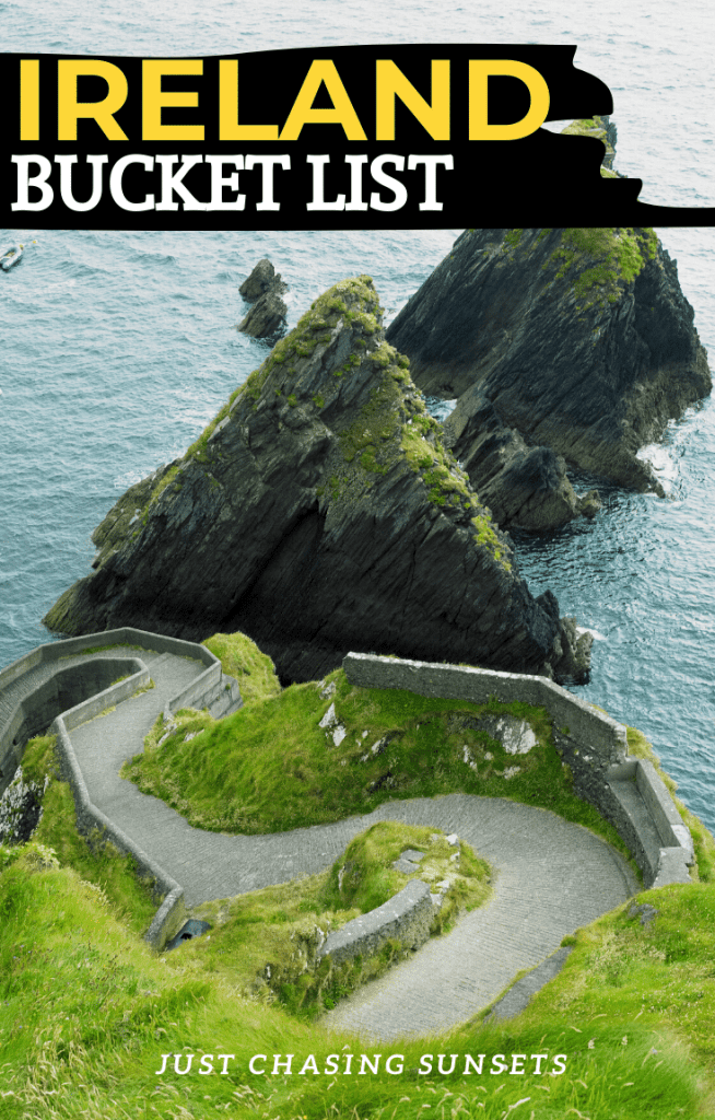 Ireland bucket list