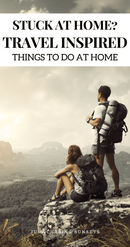 travel things to do at home during COVID-19