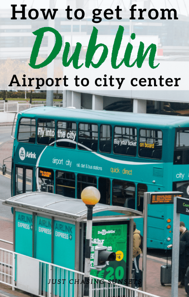How to get from Dublin airport to city center