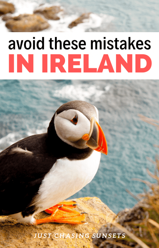 avoid these mistakes in Ireland