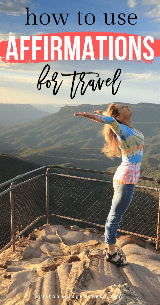 How to use affirmations for travel