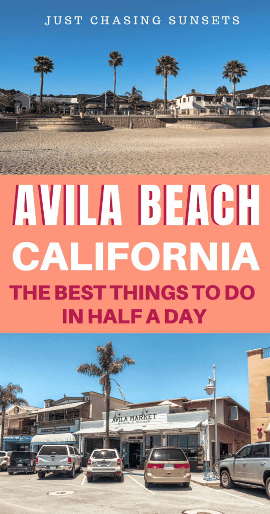 Avila Beach, California things to do in half a day