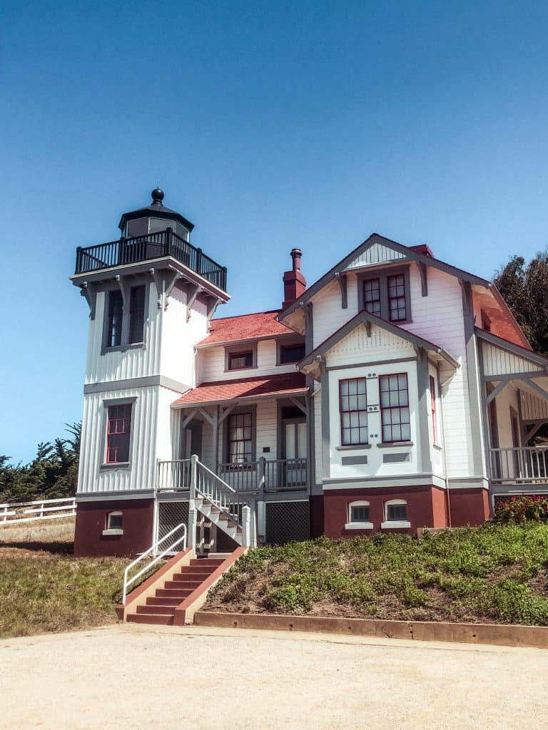Point Luis Lighthouse in Avila Beach