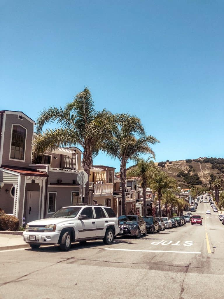 Street Parking in Avila Beach