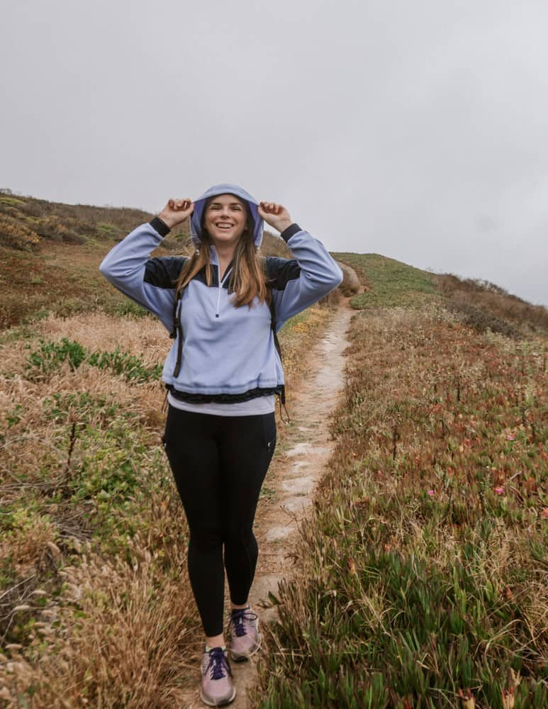 what to wear hiking in Pacifica, CA