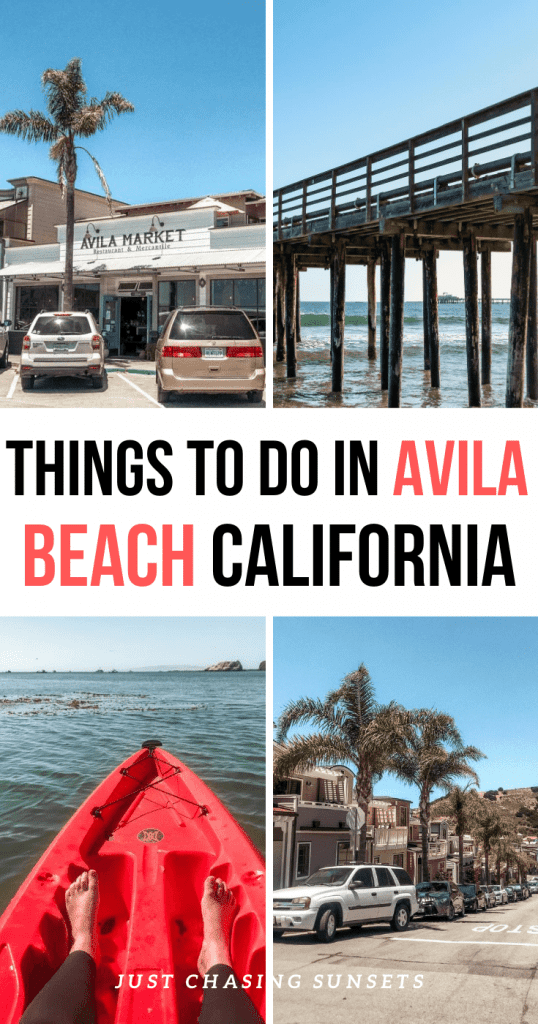 Things to do in Avila Beach California