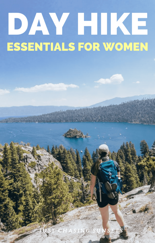 Day hike essentials for women