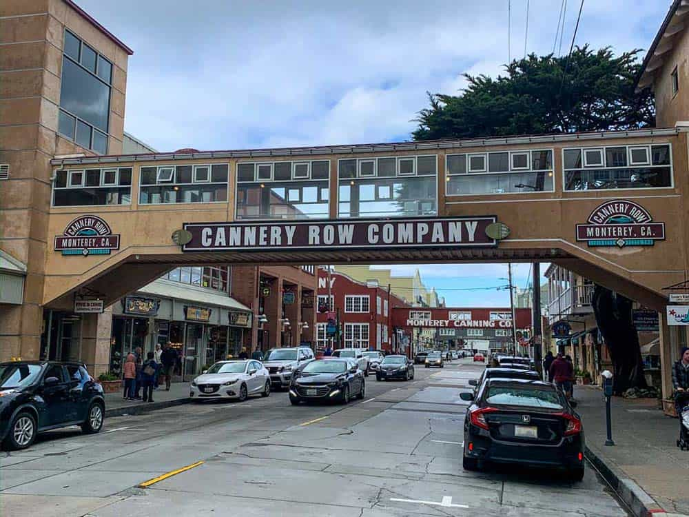 Cannery Row, Monterey c/o Constance