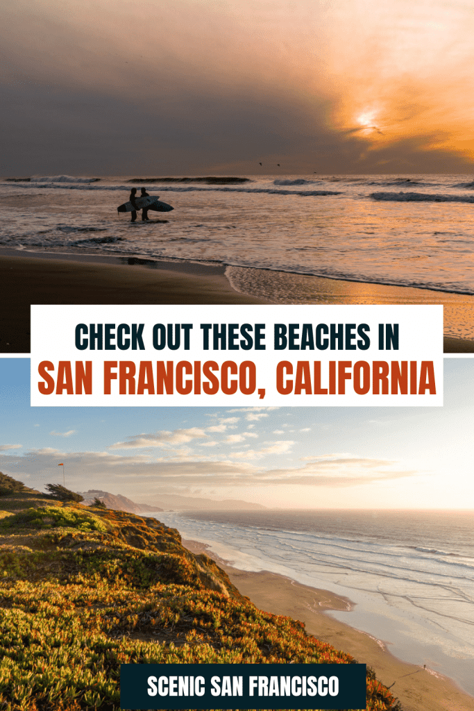 Check out these beaches in San Francisco, CA
