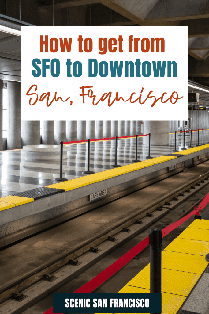 How to get from SFO to downtown San Francisco