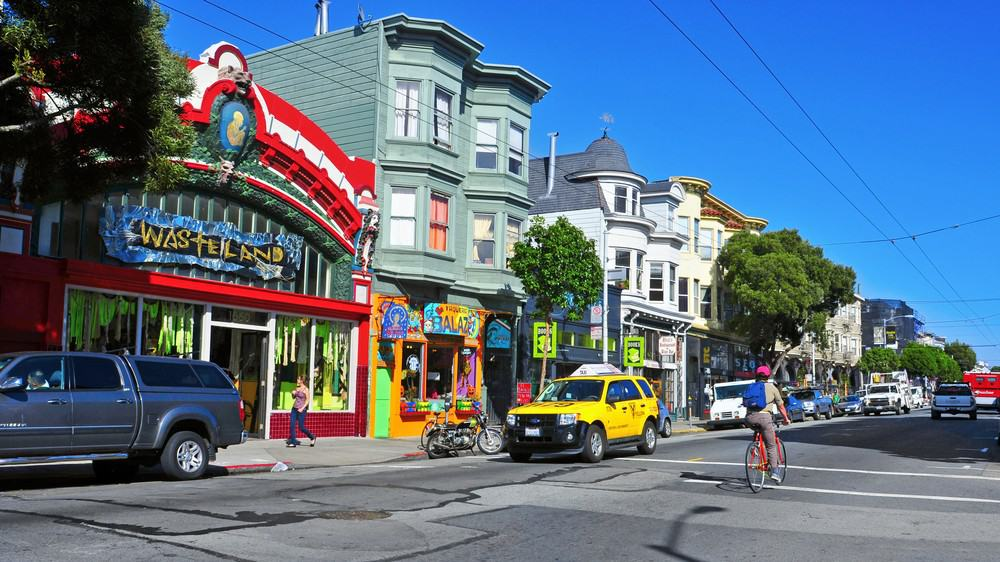 Shops on Haight in San Francisco