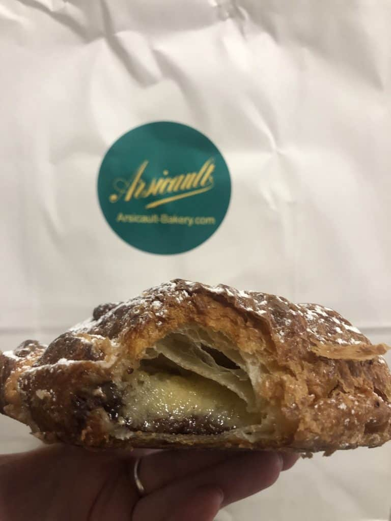 Chocolate Almond Croissant from Ariscault bakery