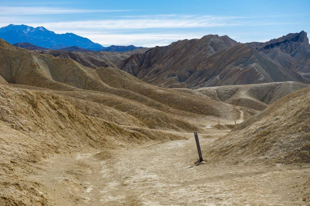 Golden Canyon Hike - Death Valley