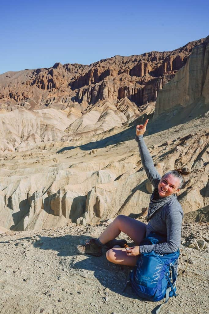 Me on the Golden Canyon Trail Death Valley