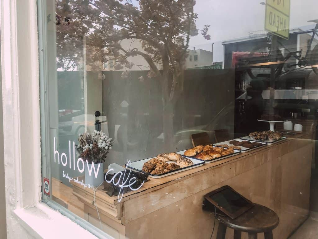 Hollow cafe in San Francisco