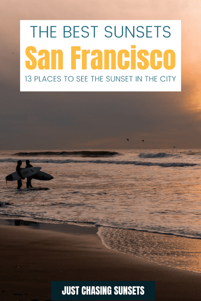 the best sunsets in San Francisco